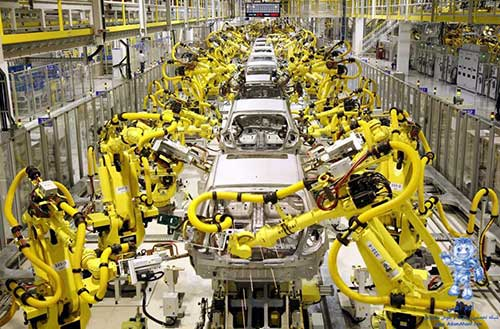 مکاترونیک-ربات-ربات صنعتی