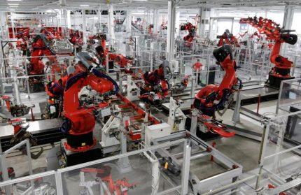رباتیک-ربات های خط تولید