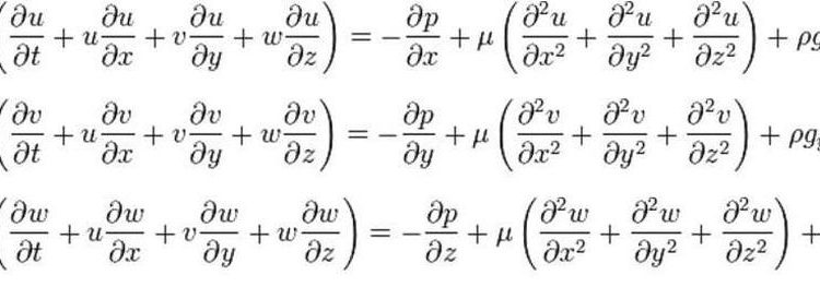 navier-stocks equations