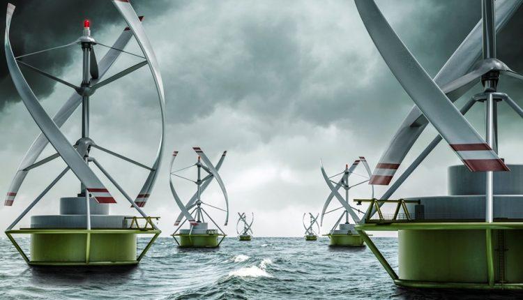 Darrieus wind turbine