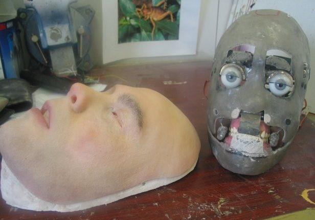 Humanid-robot-Martin-Kelly's-robot