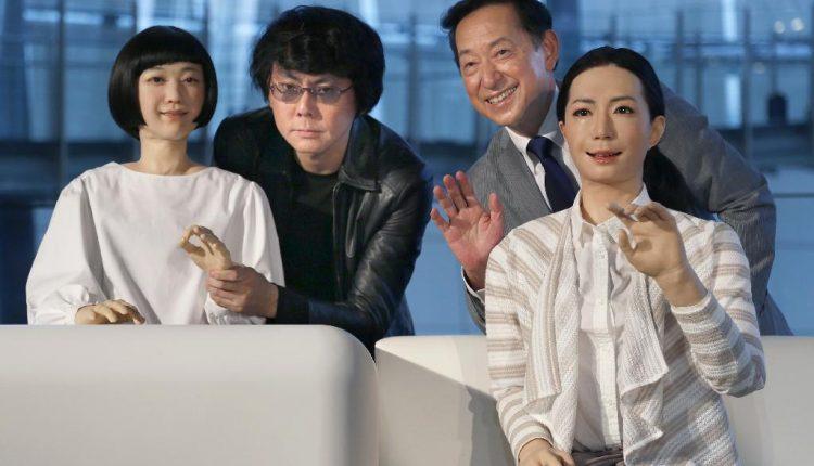 Otonaroid, Mamoru Mohri, Kodomoroid, Hiroshi Ishiguru