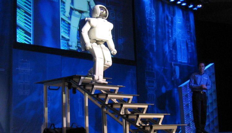 humanoid robot-stairs