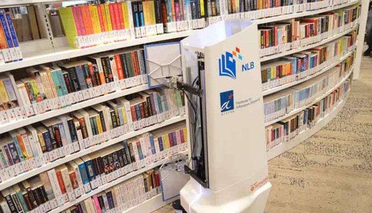 pasir-ris-library-robot